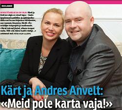 Kärt ja Andres Anvelti intervjuu Naistelehes